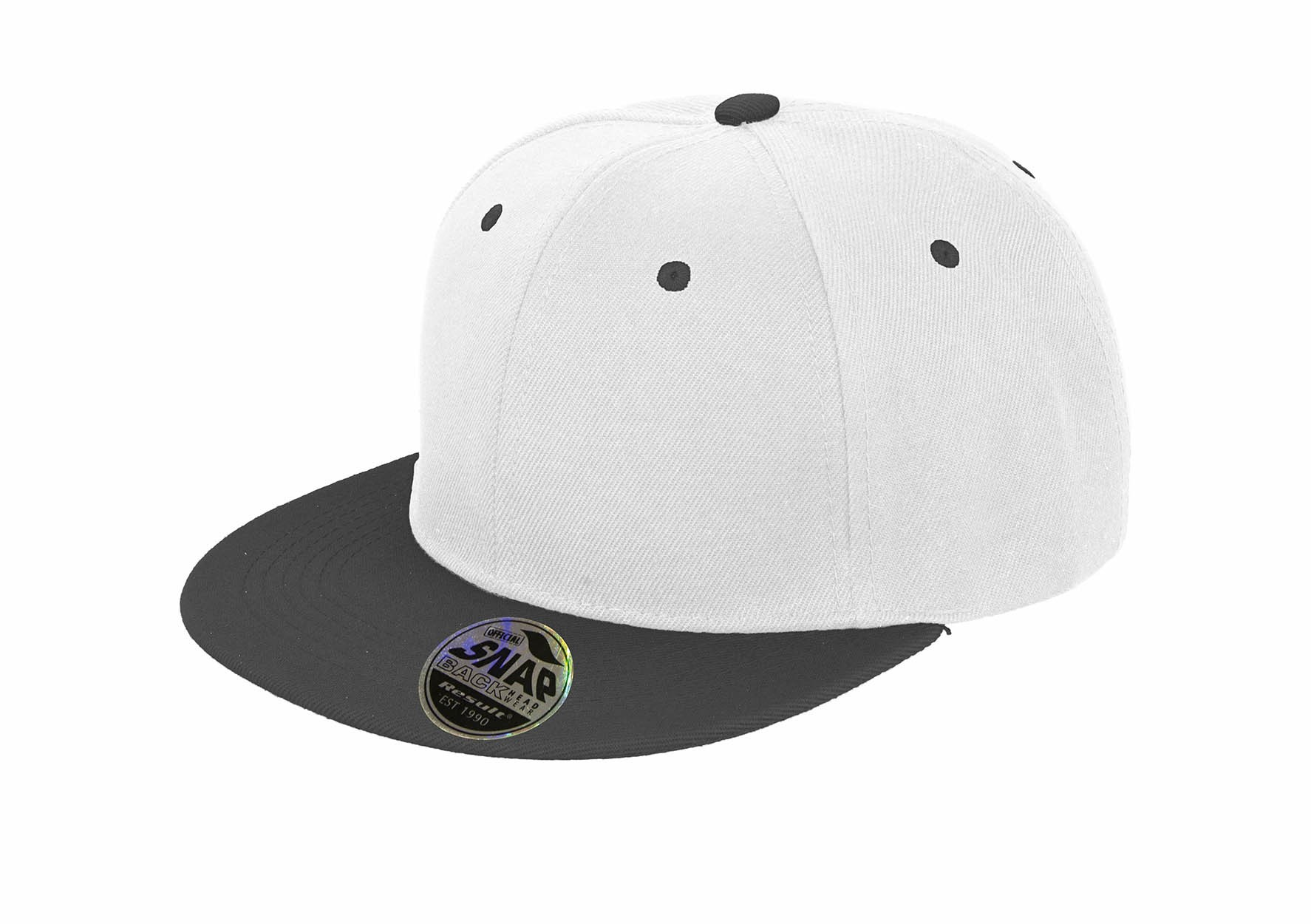 6850f2d5eaa Result RC82X Core Bronx Original Flat Peak-Snapback Dual Colour Cap ...