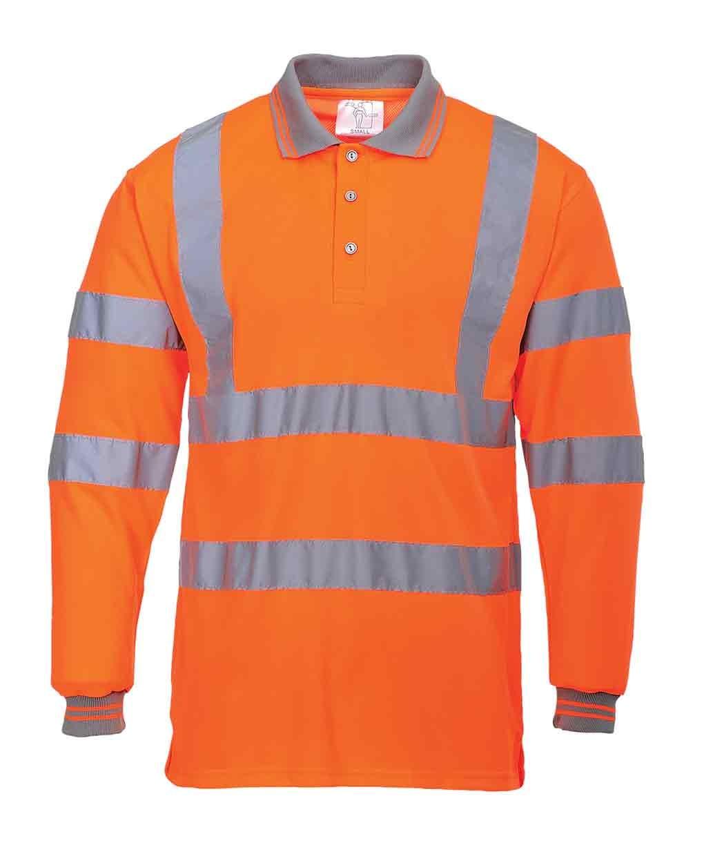 Hi Vis Polo Shirts Long Sleeve Joe Maloy