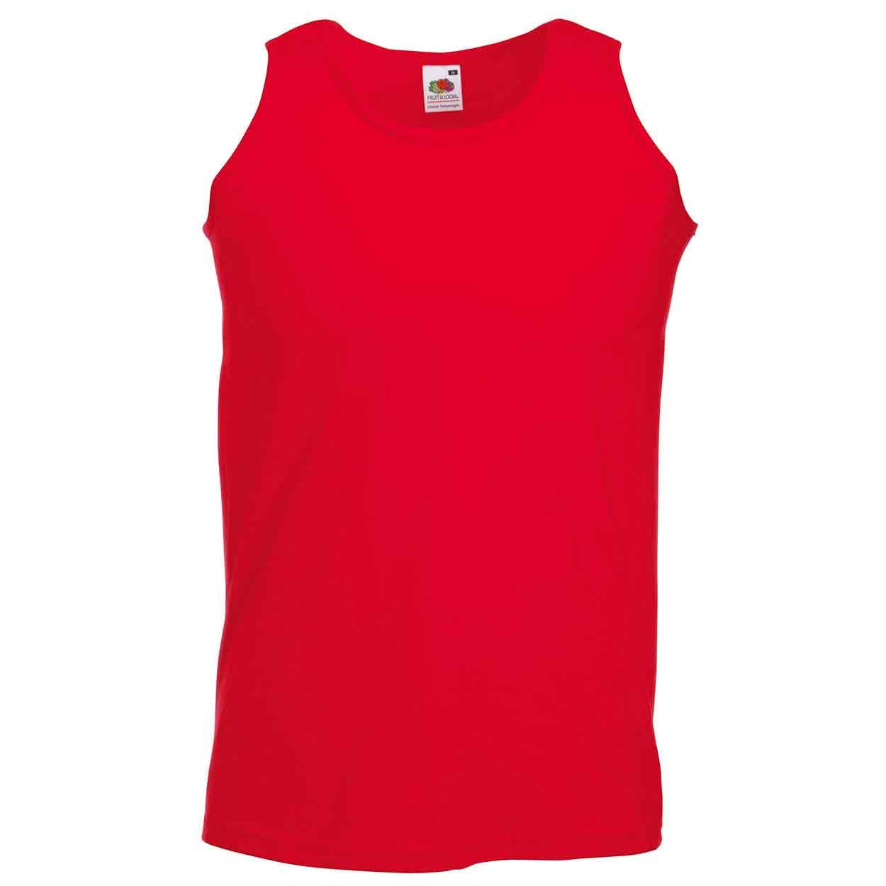 8e9ecd1802414a Fruit of the Loom SS18 Athletic Vest - Mens Sleeveless T-Shirts ...