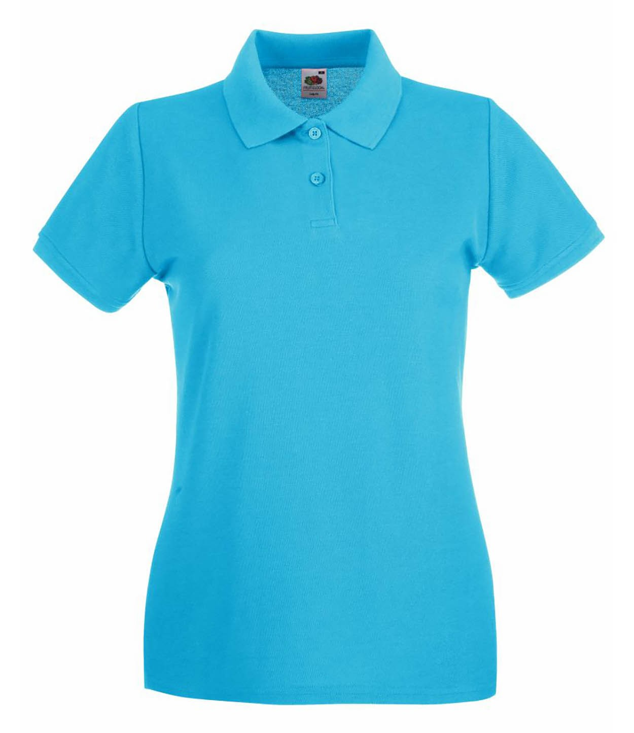 8c6eb408 ... Premium Polo Sunfl Fruit of the Loom Lady Fit Pique Polo Shirt ...