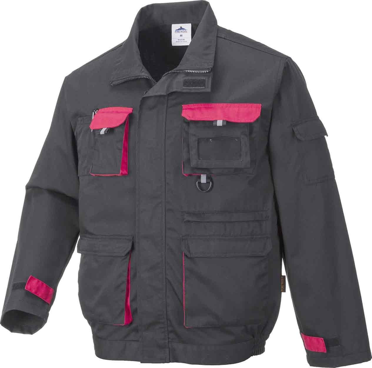 - Black TX10 M Portwest Contrast Jacket