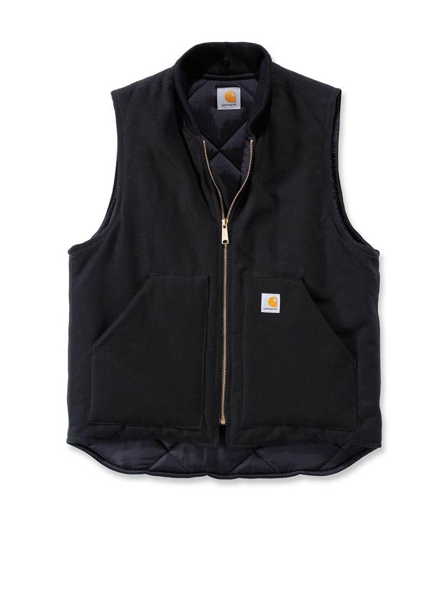 Carhartt V01 Duck Vest Arctic Quilt Lined Gilet: