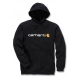 Carhartt Signature Logo Hooded Sweatshirt