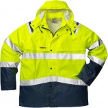 Fristads High vis rain jacket cl 3 4624 RS