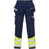 Fristads High vis Gen Y craftsman trousers cl 1 2127 CYD