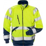 Fristads High vis sweat jacket cl 3 7426 SHV
