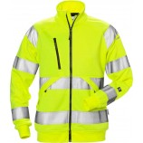 Fristads High vis sweat jacket woman cl 3 7427 SHV