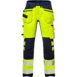 Fristads High vis craftsman stretch trousers cl 2 2707 PLU
