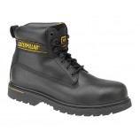 Cat Holton S3 Leather Safety Boot Hone