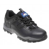 Himalayan 4020BK Black Leather Safety Trainer