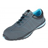 Securityline 4205BK Cardinal Ladies Grey Metal Free Safety Shoe