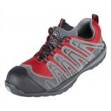 Securityline 4206GR Halcon Red/Grey Metal Free Safety Trainer