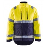 Blaklader 4827 High Vis Winter Jacket, Pu