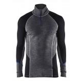 Blaklader 4899 Underwear Zip-Neck Top Warm 100% Merino