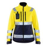 Blaklader 4902 Ladies High Vis Softshell Jacket