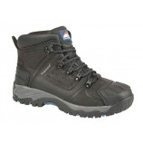 Himalayan 5206BK Waterproof Safety Boot with Scuff Cap