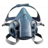 3M 7502 Medium Silicone Half Mask