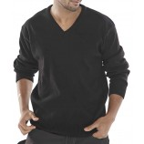 Click Acrylic Sweater V-Neck