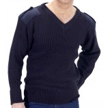 Click Military Style Security Sweater