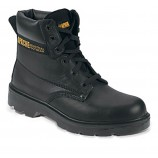 Apache AP300 Black 6 Eye Safety Boot
