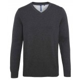 Asquith & Fox AQ042 Men's cotton blend v-neck sweater