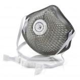 B-Brand Respiratory BBMMP2CV B-B P2V Mesh Cup Charcoal Mask