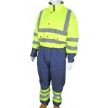 B-Seen BD900 Two Tone Hiviz Thermal Waterproof Coverall