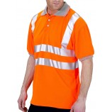 B-Seen Hi Viz Polo Shirt