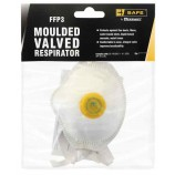 B-Safe Prepack BS033 Ffp3 Moulded Valved Cup Respirator
