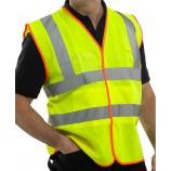 B-Safe BS061Y EN471 Hi-Vis Vest