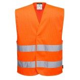 Portwest C374 MeshAir Hi-Vis Two Band Vest