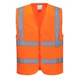 Portwest C375 Hi-Vis Zipped Vest