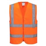 Portwest C375 Hi-Vis Zipped Vest