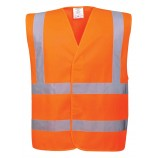 Portwest Hi-Vis Two Band & Brace Ves