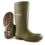 Dunlop CA61831 Purofort Multigrip Safety Welly Green