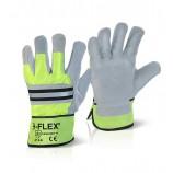 B-Flex Canadian High Quality High Viz Rigger Glove Pk 10