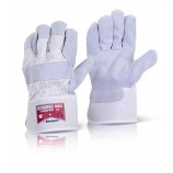 B-Flex Canadian High Quality Red Rigger Glove Pack of 10