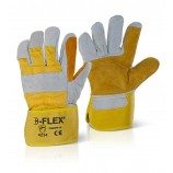 B-Flex Canadian Double Palm High Quality Rigger Glove Pk 10