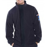 Click ARC CARC910 Arc Compliant Fleece Jacket Navy