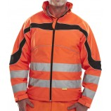 B-Seen ET41OR Eton Soft Shell Jacket Orange
