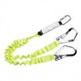 Portwest FP52 Double Lanyard Elasticated With Shock Absorber