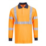 Portwest FR76 Flame Resistant GO/RT Polo Shirt