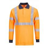 Portwest FR76 Flame Resistant GO/RT Polo Shirt