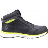 Timberland Pro Reaxion Mid S3 Hiker Boot Black/Yellow