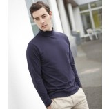 Henbury H020 Long Sleeve Roll Neck Top