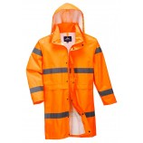 Portwest Hi-Vis Rain Coat