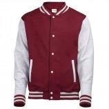 AWDis Hoods JH043B Kids Varsity Jacket