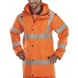 B-Seen Jubilee Breathable Hi Viz Jacket