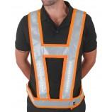 Lightvest LVBL Harness C/W Backlight Orange