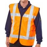 Lightvest LVSBFLP Safety Basic Front Light C/W Pockets